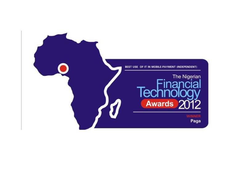 PAGA wins Financial Technology Award
