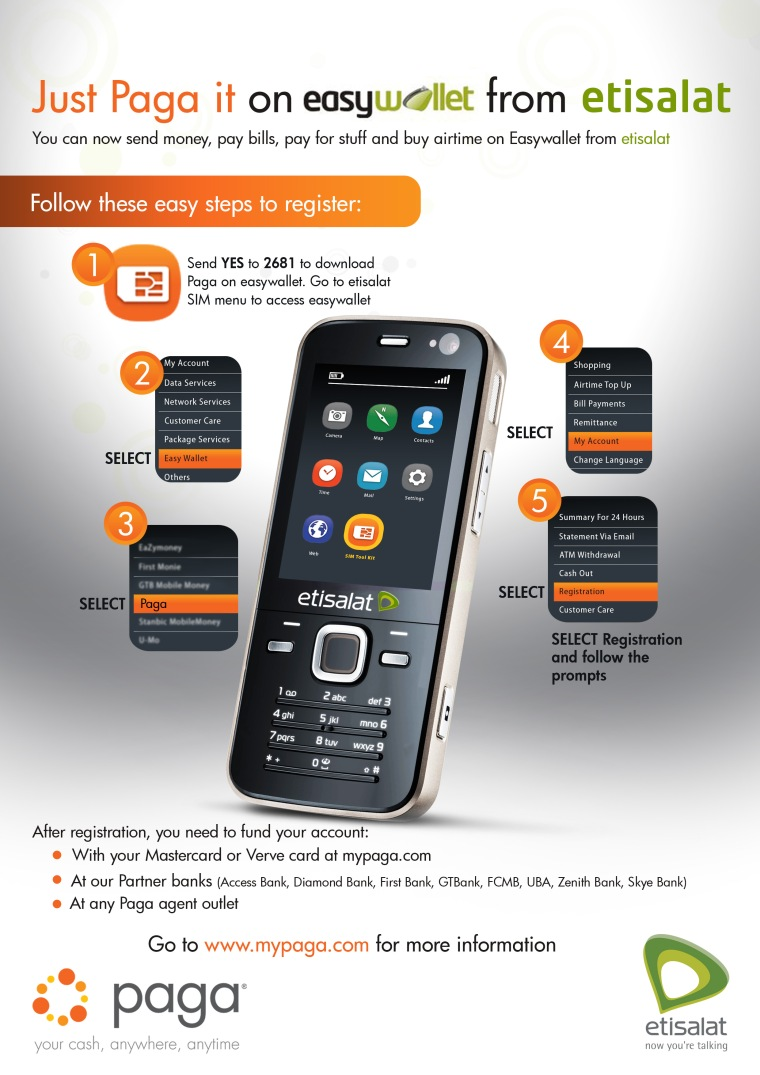 Paga Now Available On easywallet From Etisalat