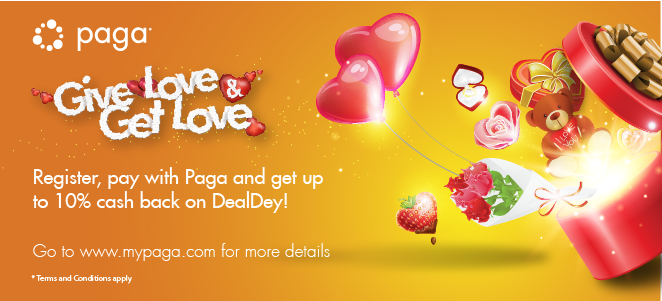 Give Love & Get Love...With 10% cash back on DealDey