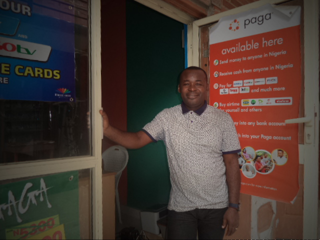 Paga Agent Charles Nnamdi of Showdeck Audiovisual System (LAGOS)